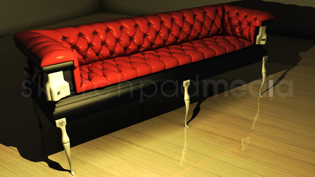 3D Coffin Couch by sketchpadmediaDA ...