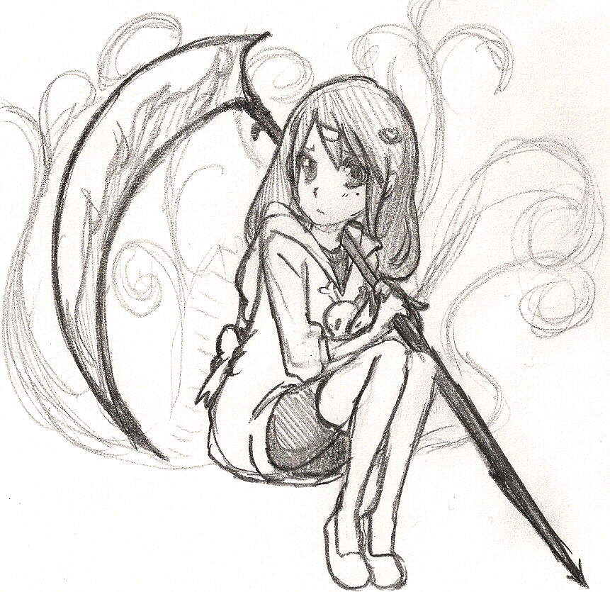 Agrona - Guardian of Death by KarinMaaka07