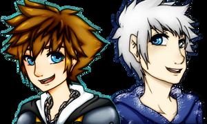 Sora and Jack by KarinMaaka07