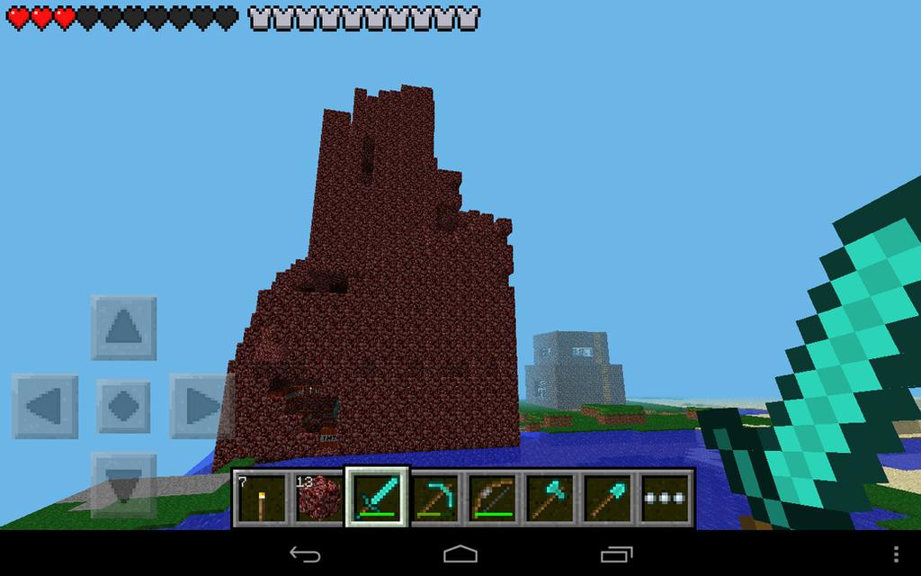 Minecraft: Netherrack Tower by GameMasterKyro on DeviantArt