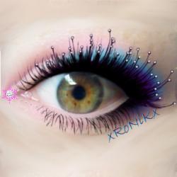 Hazel eyes by xRoNiKx