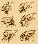 Creeper faces