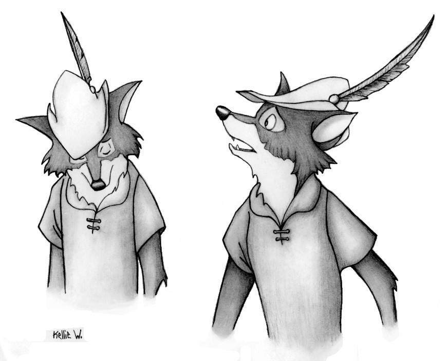 Robin Hood by Abydell on DeviantArt