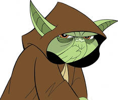 Star Wars: Clone Wars- Yoda by Abydell