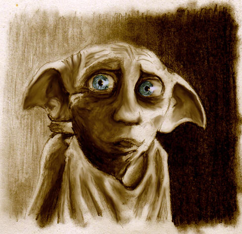 Dobby- Harry Potter by Abydell