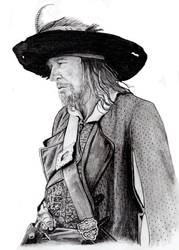 Captain Hector Barbossa by Abydell