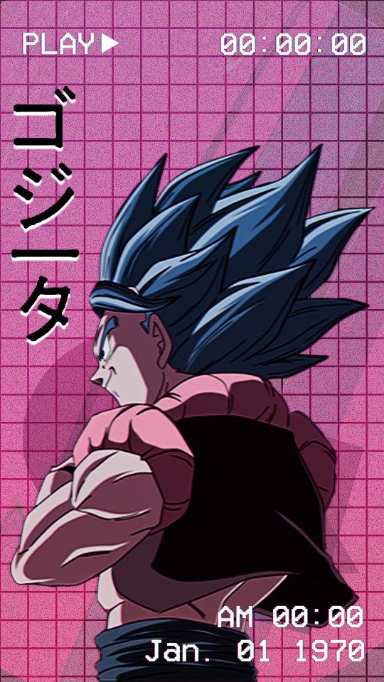 Sad Anime Dragon Ball Vaporwave Wallpaper