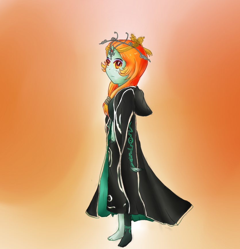Midna True Form Color Practice by EasternBorealis on DeviantArt