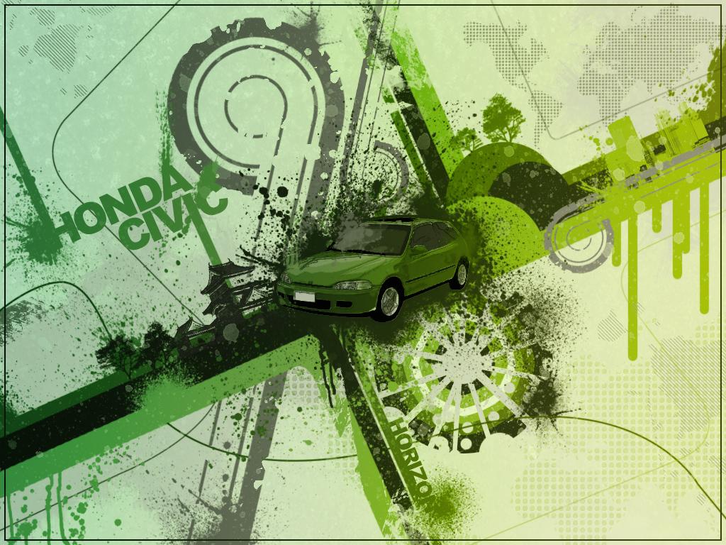 Civic Vector Wallpaper by HorizoNpl