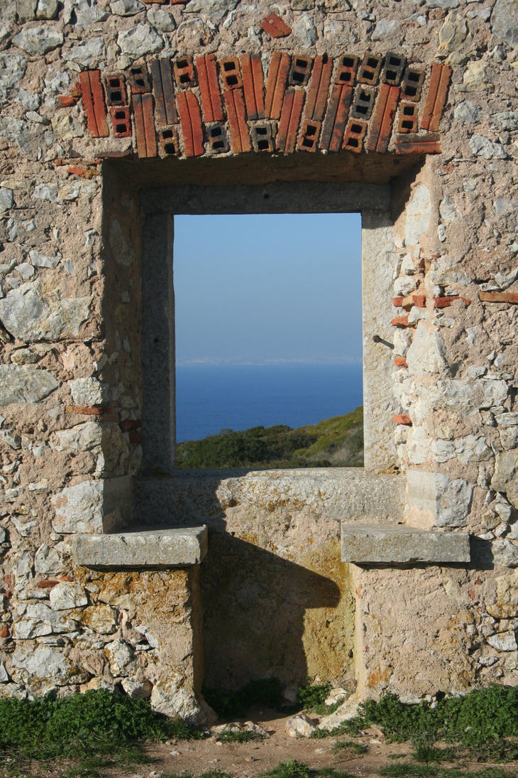 Places - Window to the sea by Stock-gallery