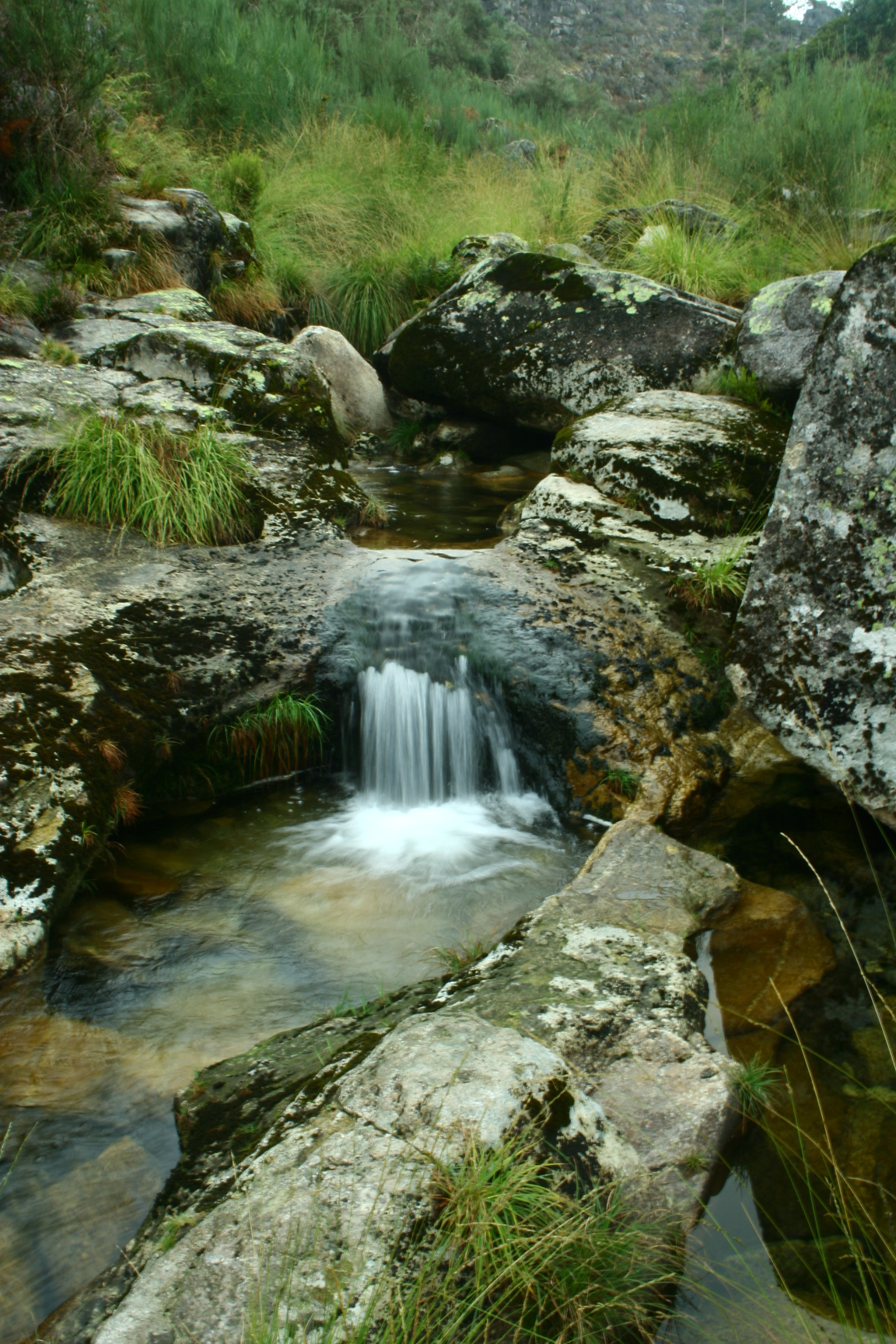 Nature - small waterfall 1 by Stock-gallery