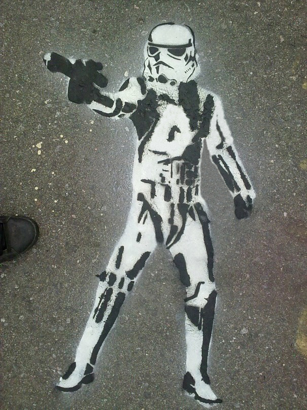 Stormtrooper by imhelix