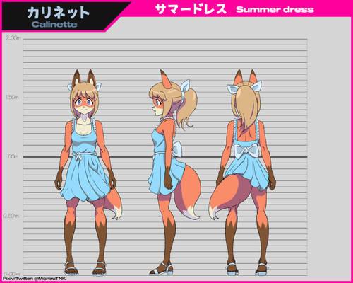 Calinette - Original character (Summer dress)