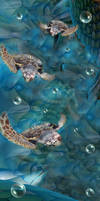 vertical turtles by philsh