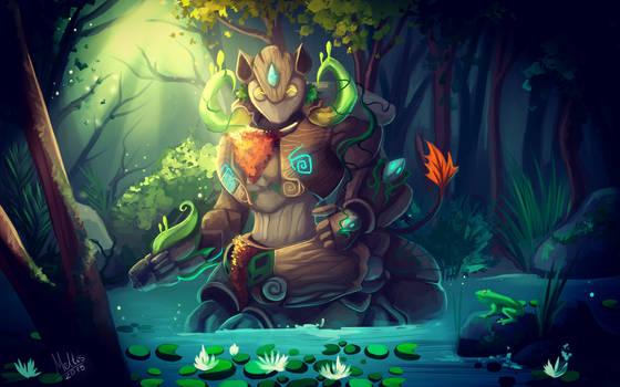 Forest Keeper (+SPEEDPAINT)