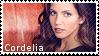 BtVS stamps: Cordelia by Severka