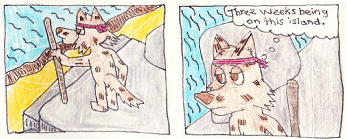 Island Dog Comic