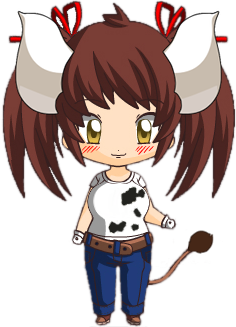 Sukimi the cow-girl (chibi)