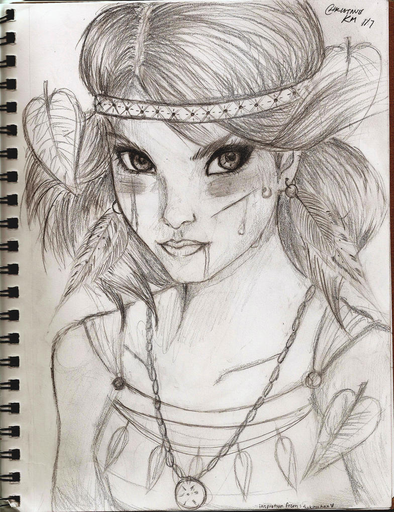 Native American Girl by WhenAngelsCries on DeviantArt