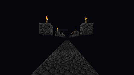 Minecraft Endless road