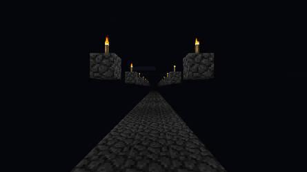 Minecraft Endless road