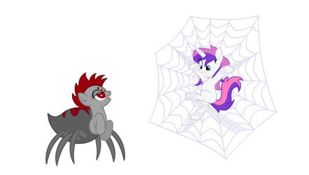 The Spider Pony Trap - Vector Only