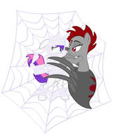 The Spider Pony Trap - Wrap Vector only