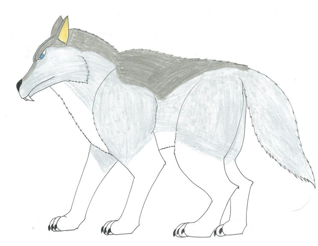 Primal Emperor Series DIRE WOLF by KingShisa08