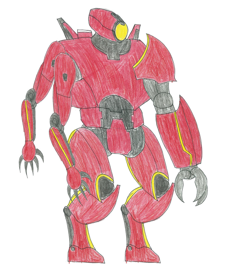 pacific rim crimson typhoon drawing