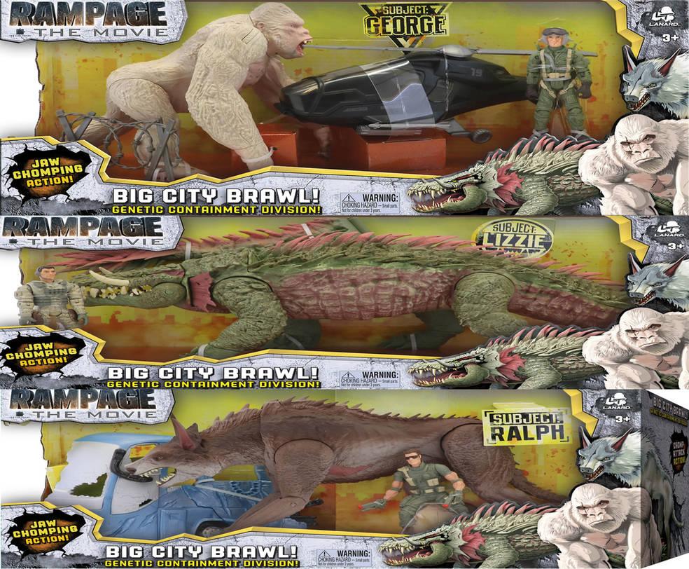 Rampage Toys By Kingshisa08 On Deviantart