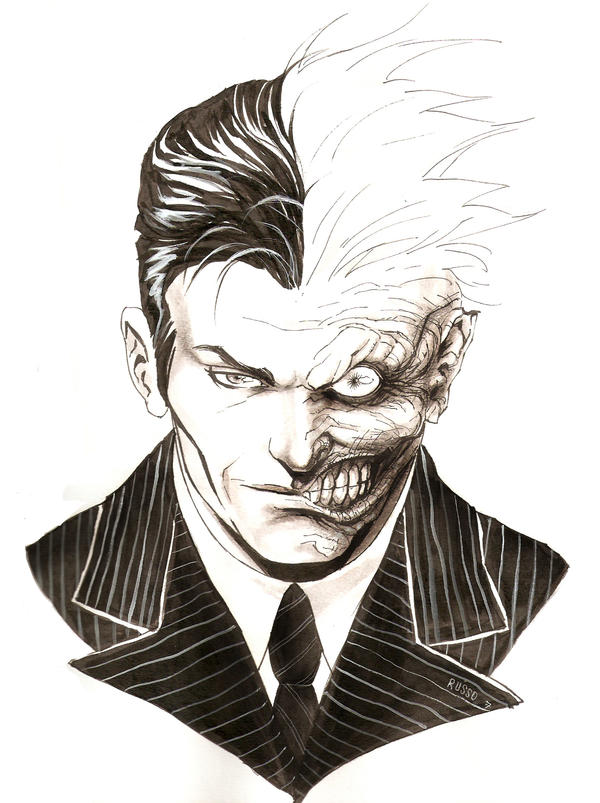 Two face by johnnyrusso on deviantart for Two faced tattoo