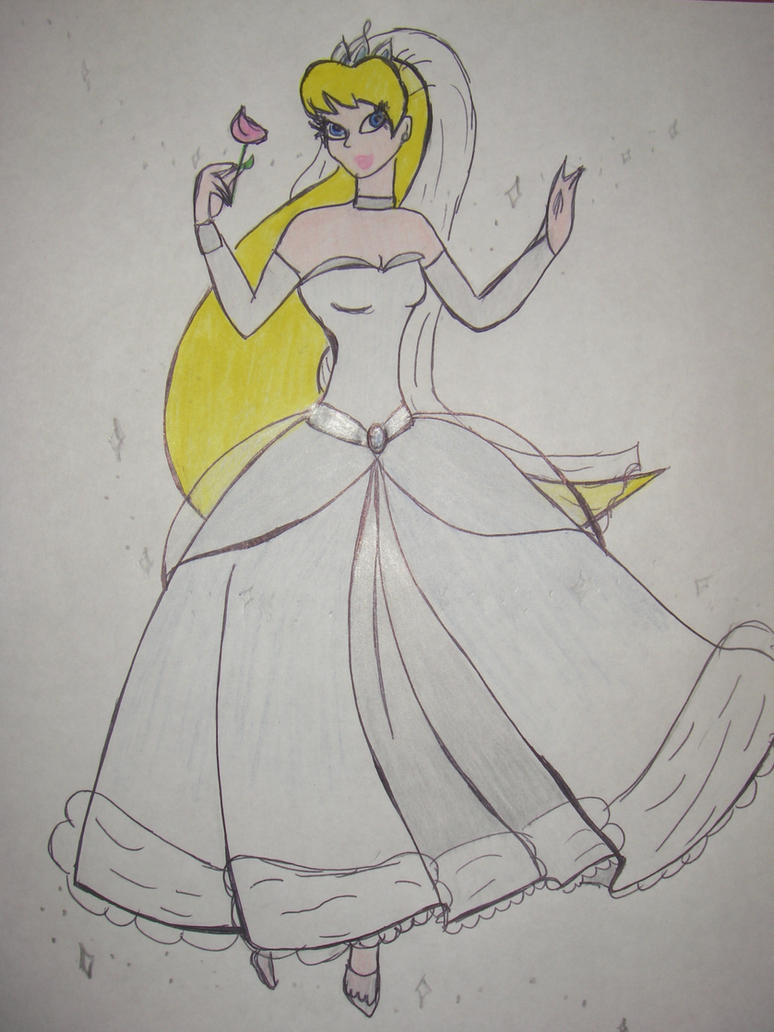Cartoon wedding dresses my cinderella wedding dress