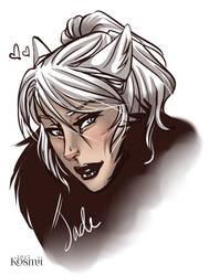 Jade Portrait Sketch