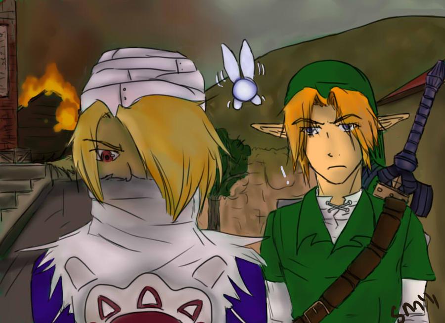 Get back, Link by ScissorMirror