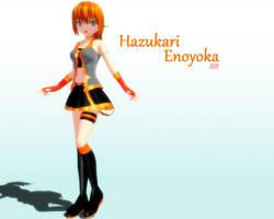 MMD Hazukari Enoyoka DL by kurumi13