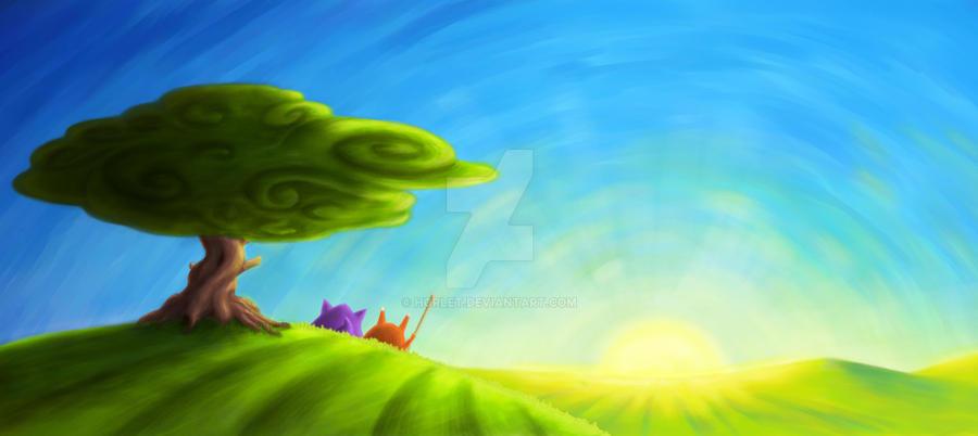Towards the Sun by horlet