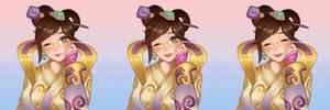 Lunar New Year Chang'e mei