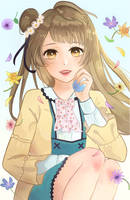 easter kotori by claudiantly