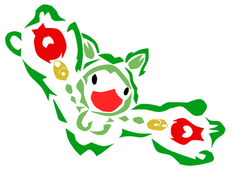 Colored Reuniclus Tribal by SparkBlazeWarriors