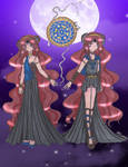 .Princess and Sailor Hecate.
