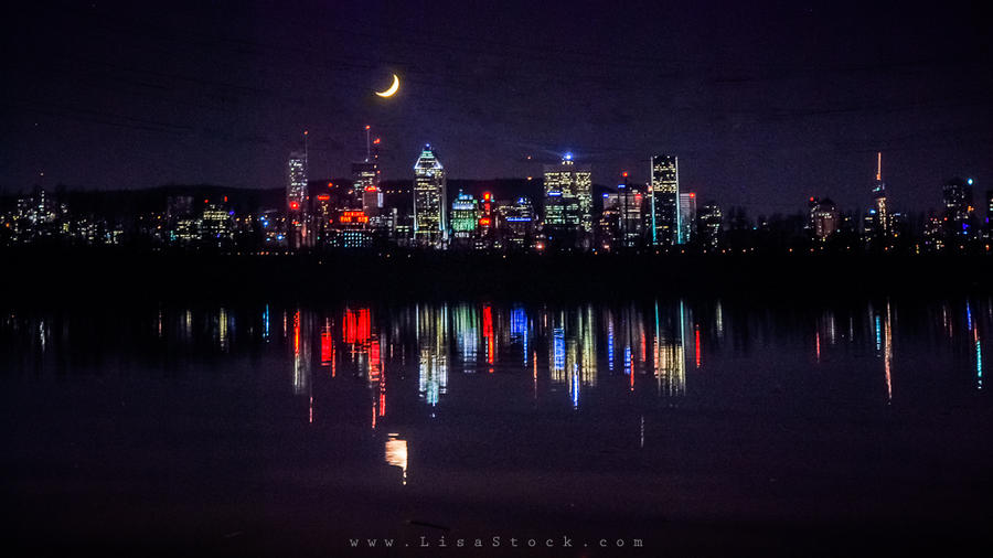 Montreal and the moon