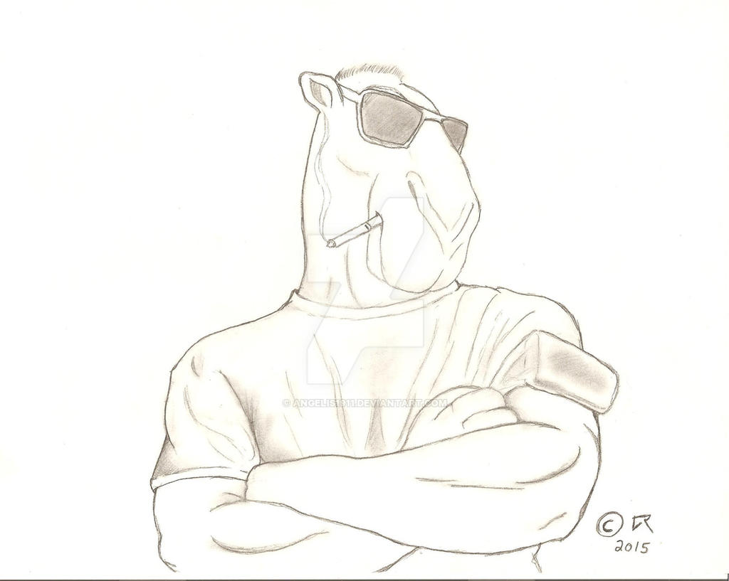 A Camel Named Joe (Sketch) by Angelis1911 on DeviantArt