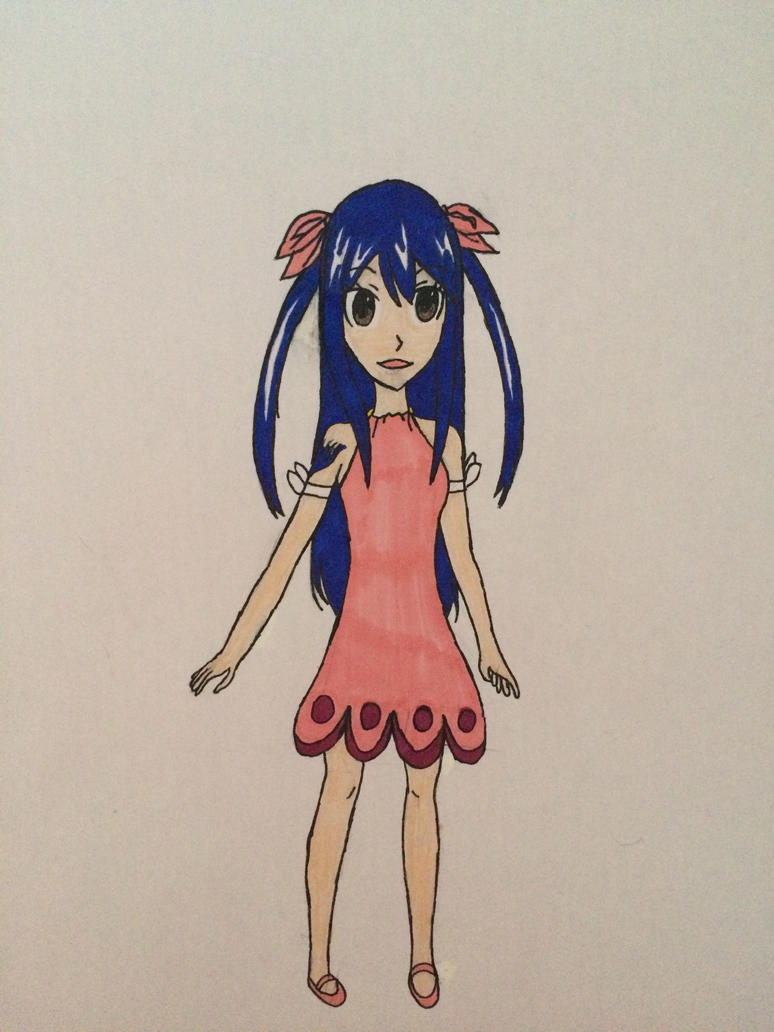 J Anime Character : Wendy marvell fairy tail anime character by sophiej on