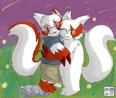Zangoose Hug TF by Moofers-Mufa