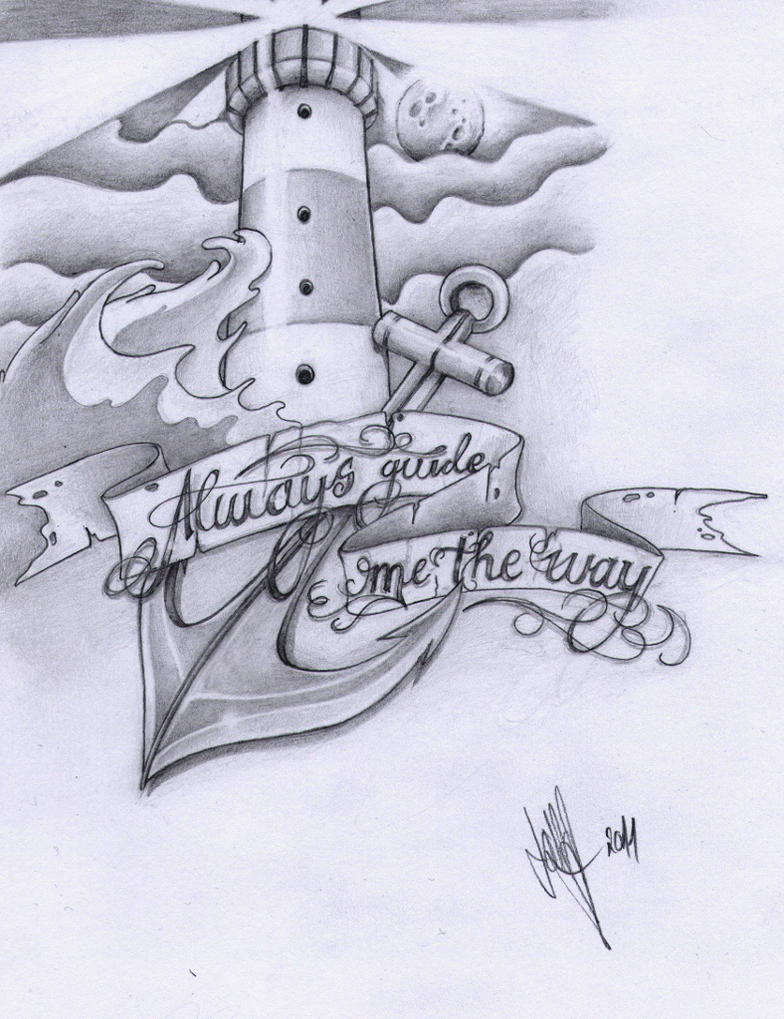 The Lighthouse Tattoo By Xxhellhoundxx On Deviantart