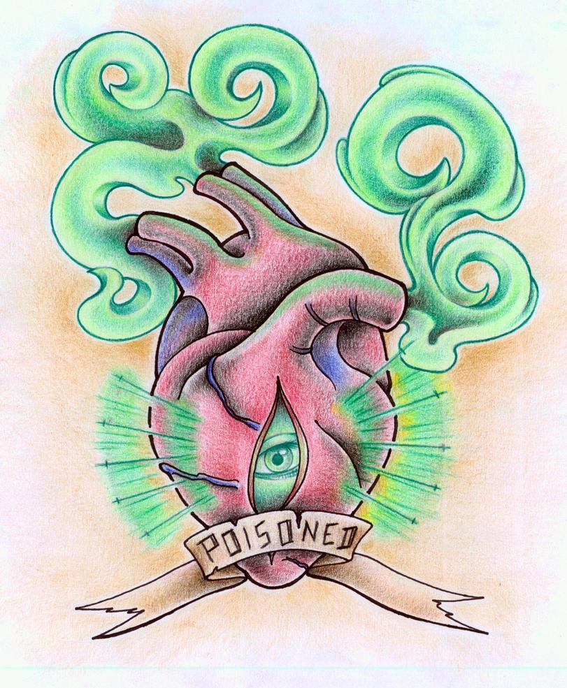 poisoned heart by xxhellhoundxx on deviantart. Black Bedroom Furniture Sets. Home Design Ideas