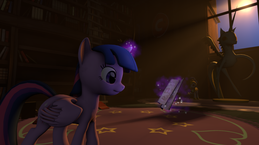 [SFM] Twilight Searching the Scrolls by BioCalamity