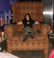 Dr. Horrible's Big Chair by crzydemona