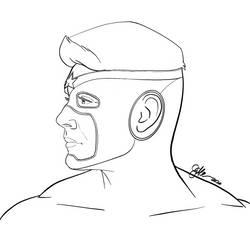 Soldier Boy Concept inks