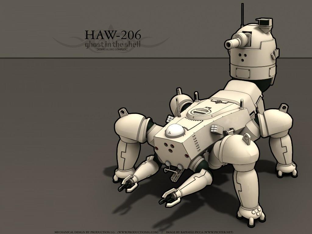 HAW206 - GitS by RaffaelePicca